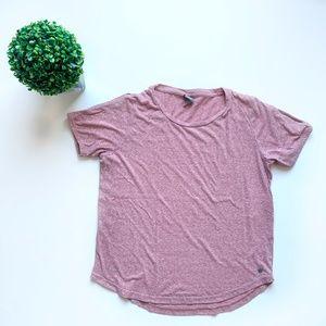 Bench Short Sleeve T-shirt Dusty Rose Size Large
